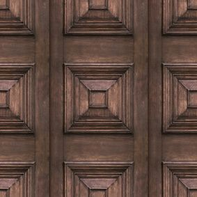Victorian Panelling Wallpaper  by Mineheart