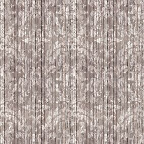 Driftwood Damask Wallpaper  by Mineheart