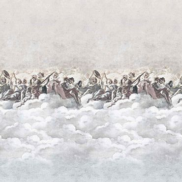 In The Clouds Wallpaper  by Mineheart