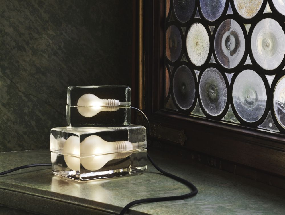 Block Lamp - set of 2 Black cord by Design House Stockholm