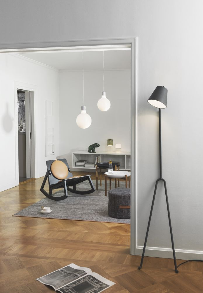 Ma 241 Ana Floor Lamp Dark Grey By Design House Stockholm