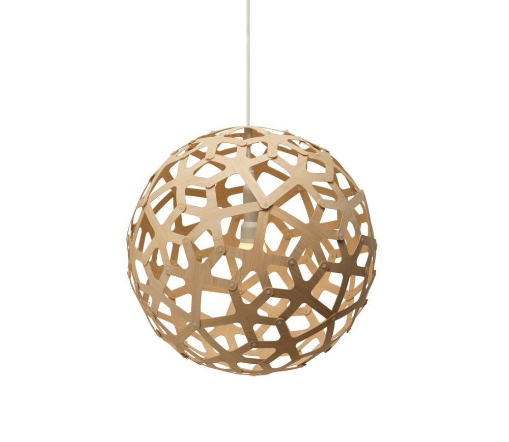 Coral pendant light natural 40 by david trubridge mozeypictures Choice Image