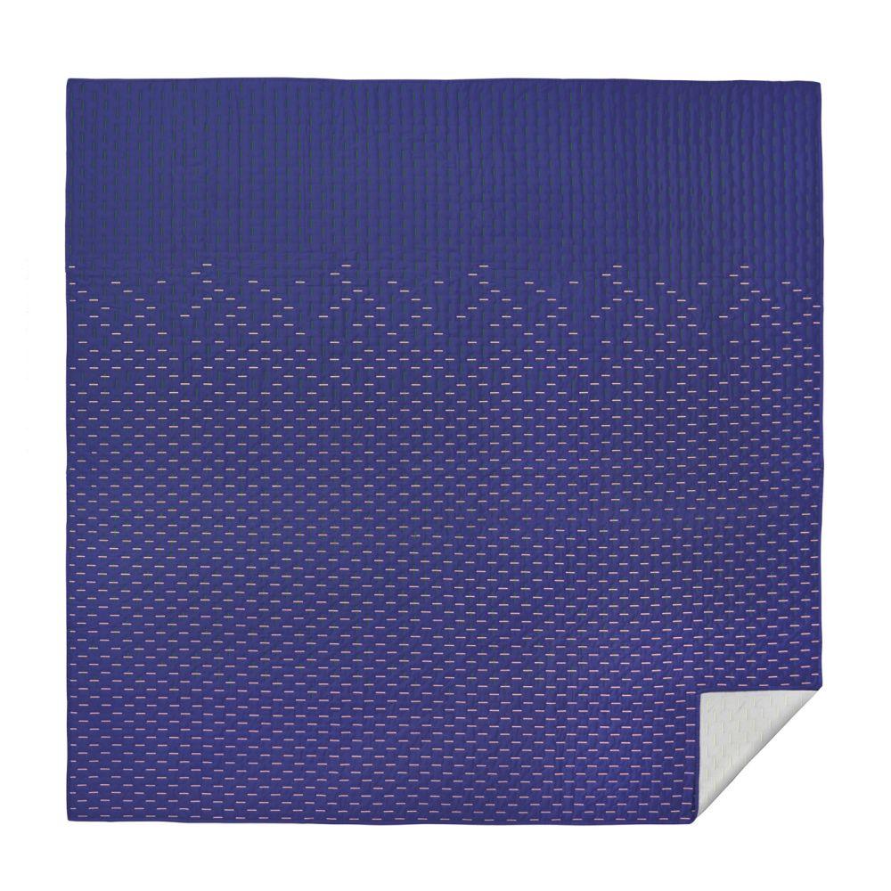 Modern Kantha Blanket by Tiipoi