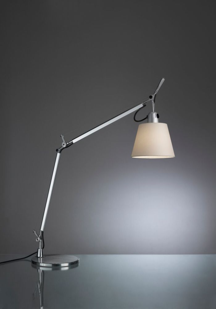 tolomeo basculante table lamp desk fixed support by artemide