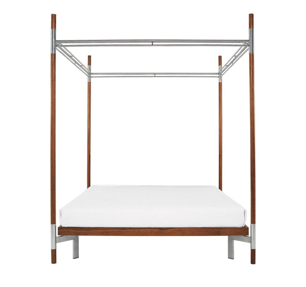Edward IV – Double Canopy Bed by Driade