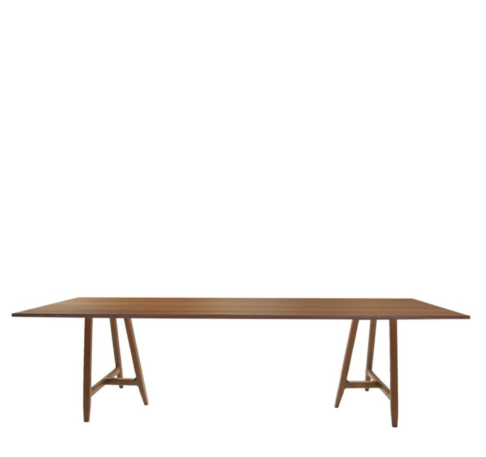 Easel Wood Table by Driade