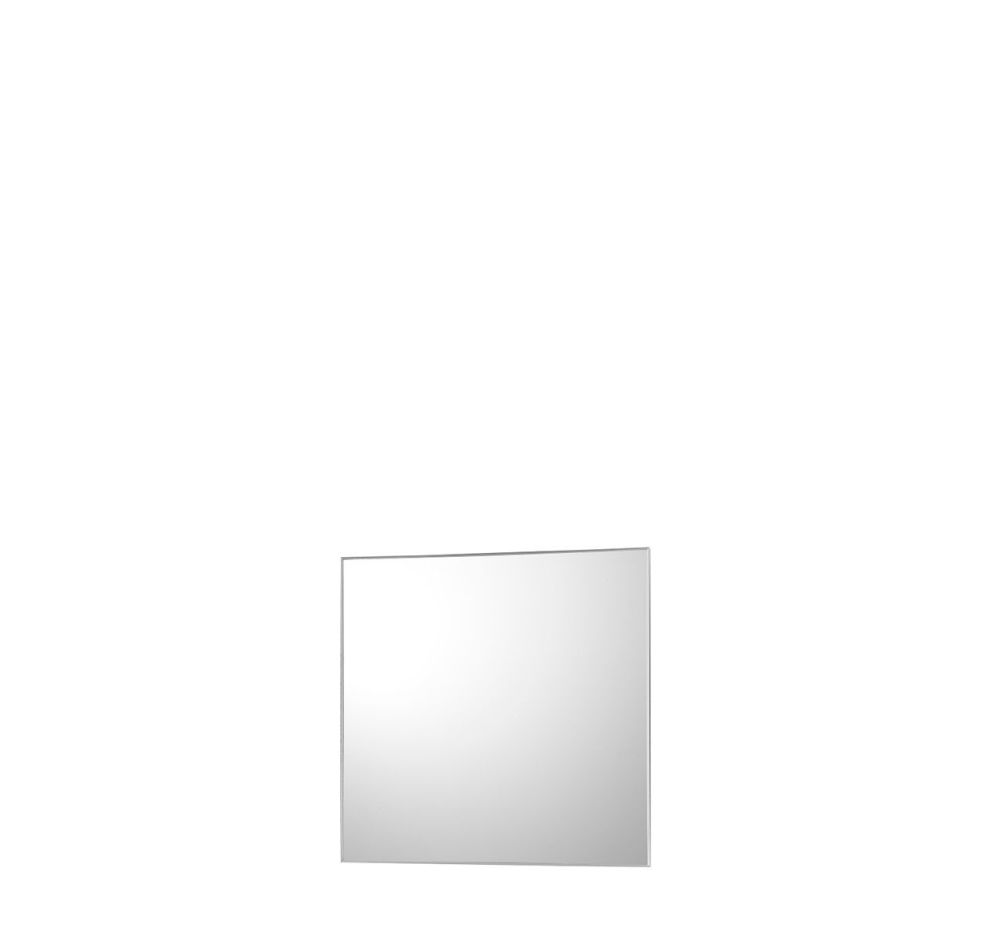 No Frame Square Mirror Polished Brass, 60 x 2 x 60 by Driade Clippings