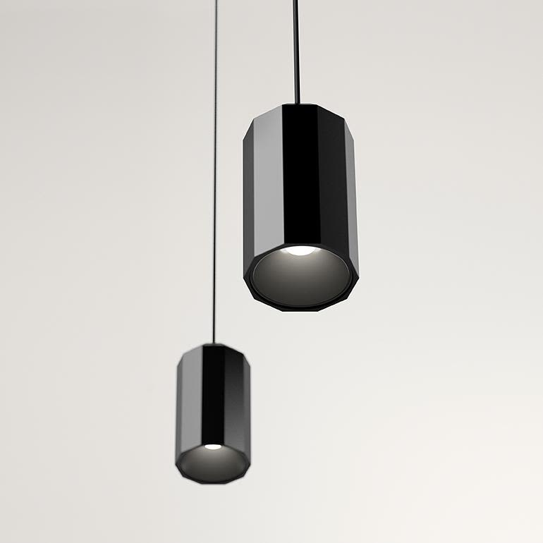 Wireflow Lineal Pendant Light - 10 LEDs by Vibia