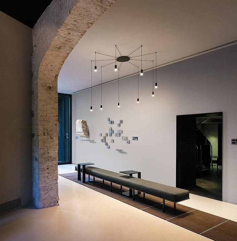 Wireflow Free Form Pendant Light - 7 LEDs from Vibia & Wireflow Free Form Pendant Light - 7 LEDs Included by Vibia