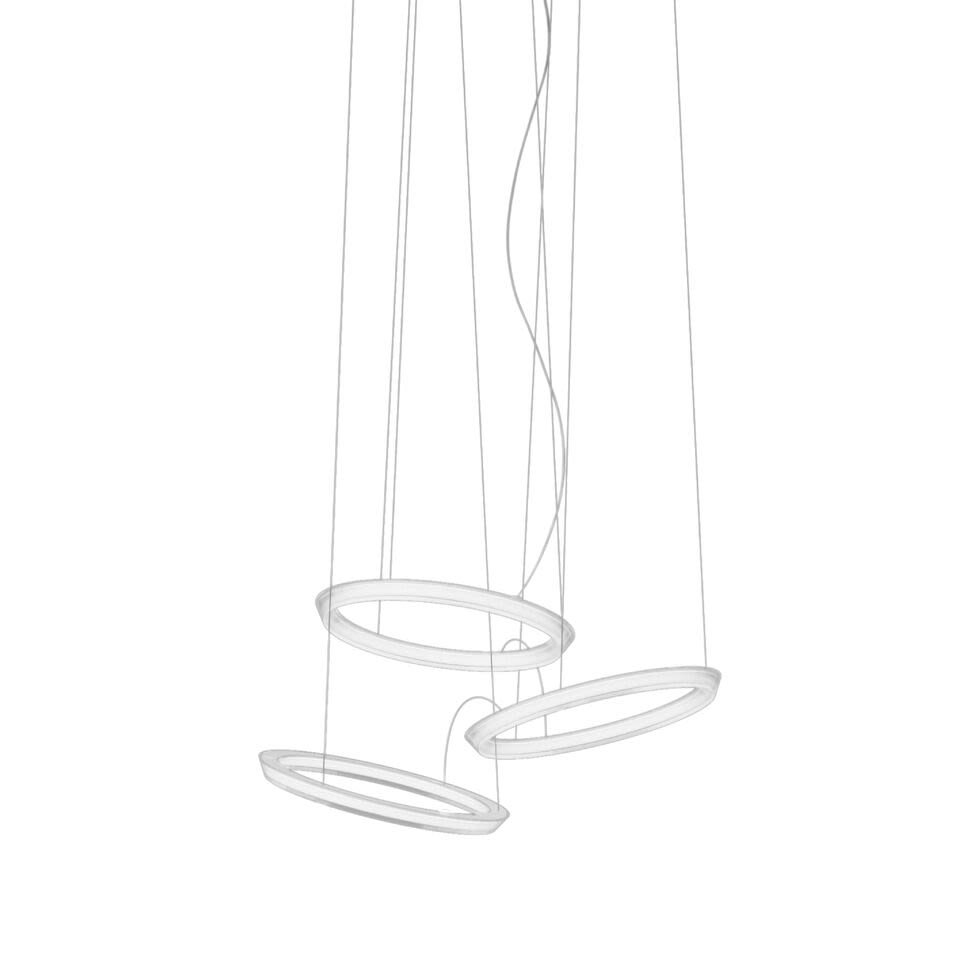 Halo Circular Pendant Light - 3 LEDs by Vibia