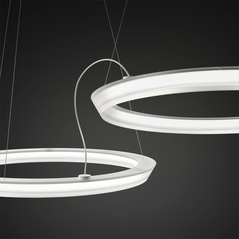 Halo Circular Pendant Light - 5 LEDs by Vibia
