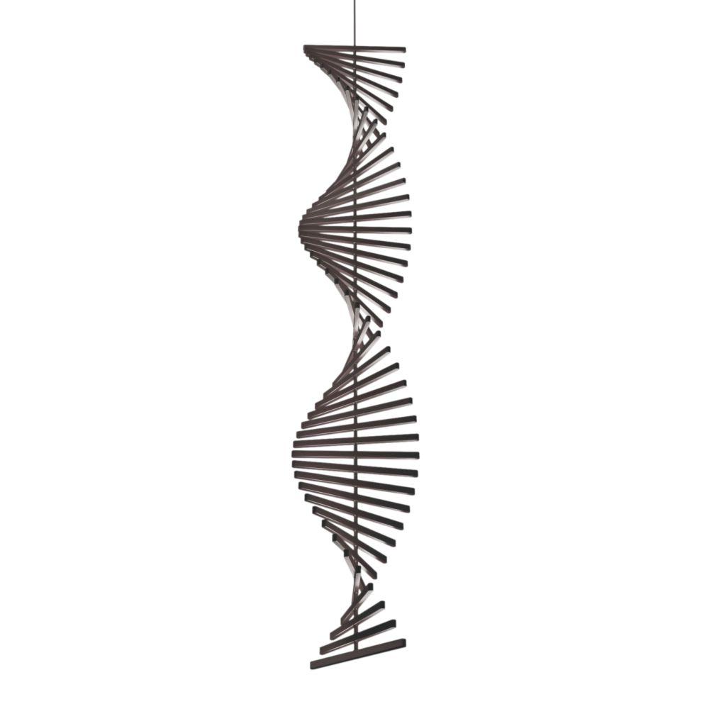Rhythm Vertical Pendant Light - 47 cm Width by Vibia