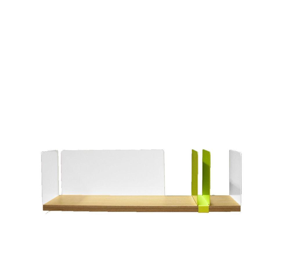 Moleskine Shelf with Sliding Element by Driade