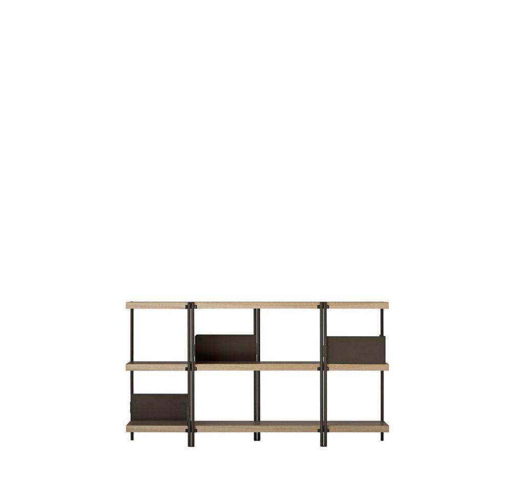 Zigzag Low Bookcase by Driade