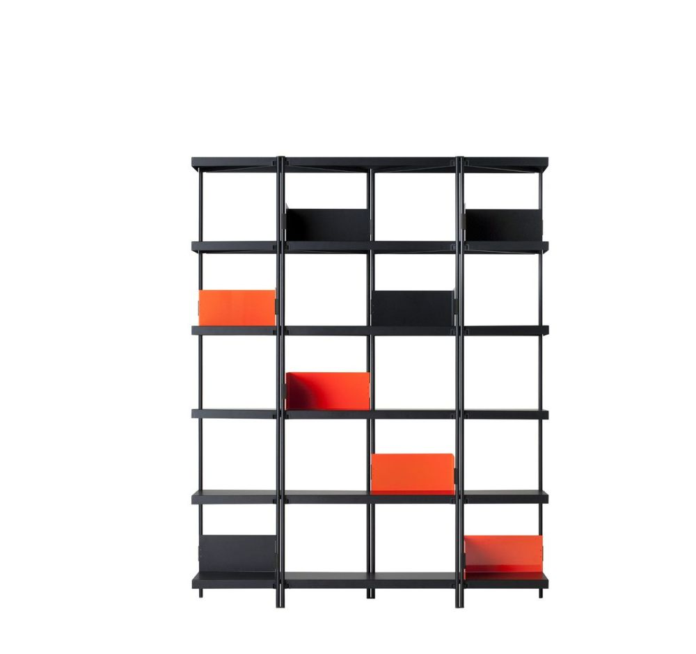 Zigzag High Bookcase by Driade