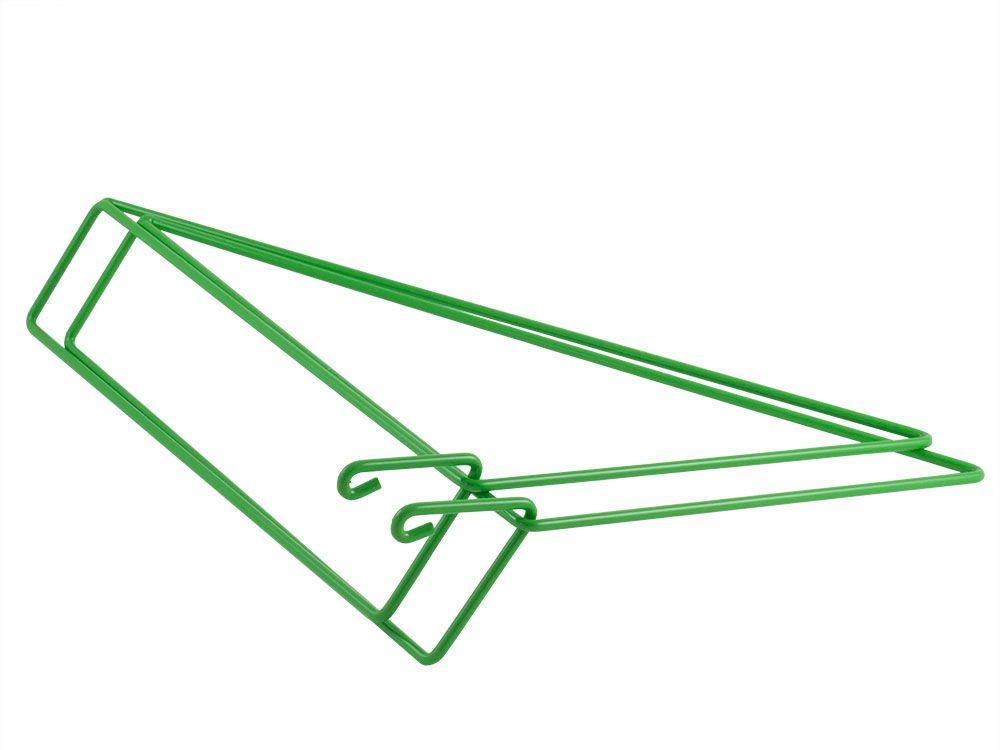 GREEN - set of 2 shelf brackets