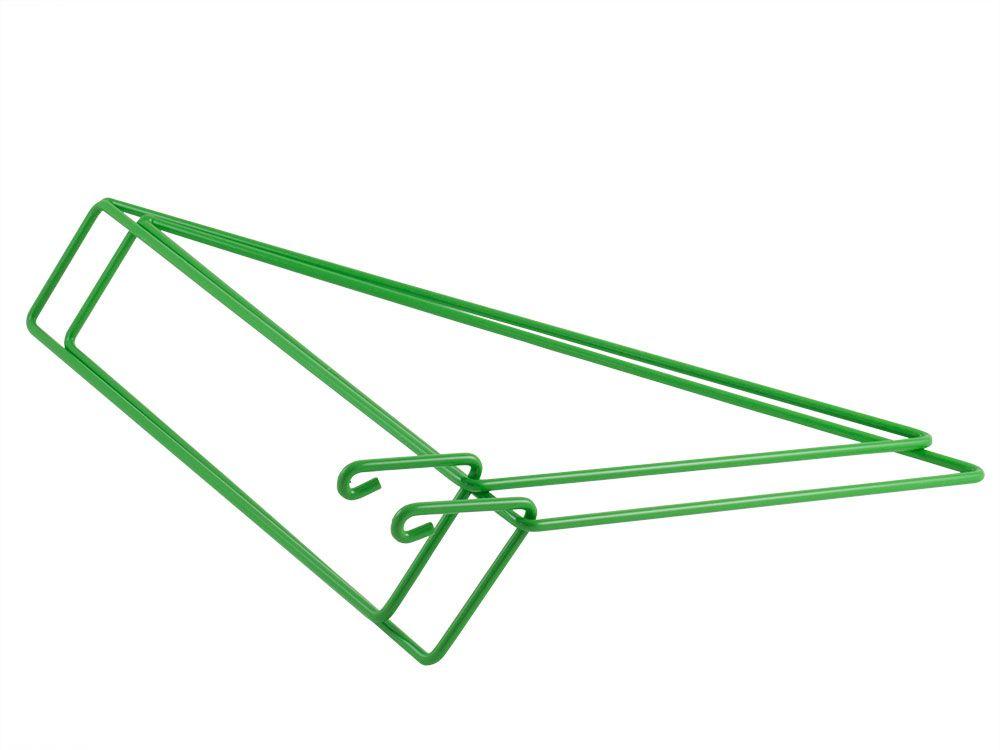 GREEN - set of 2 shelf brackets
