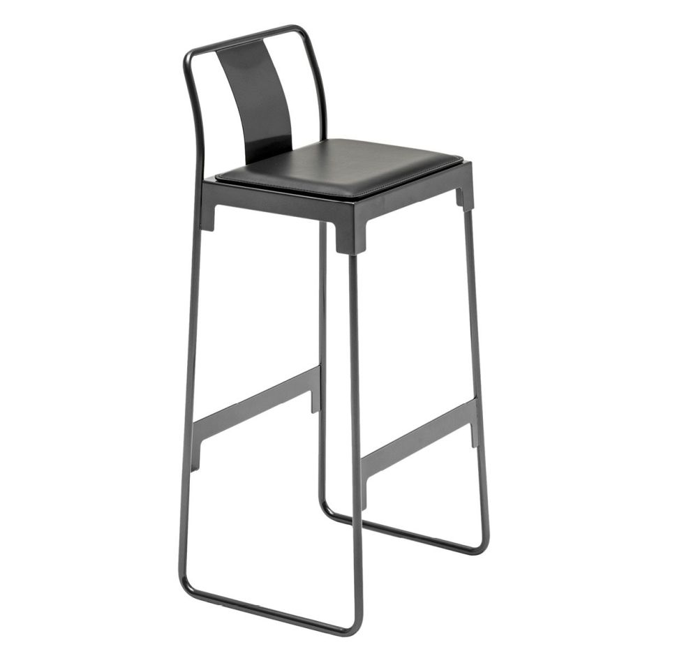 MINGX - Indoor Low Stool With Back by Driade