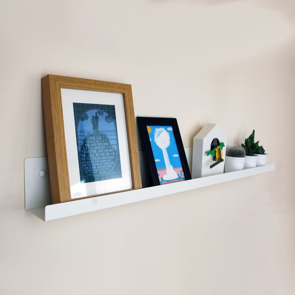 Magpie Shelving Standard in White