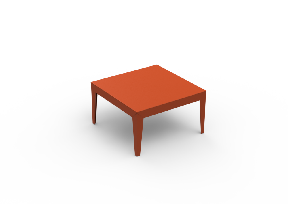 Zef Low Square Table 80x80 by Matière Grise