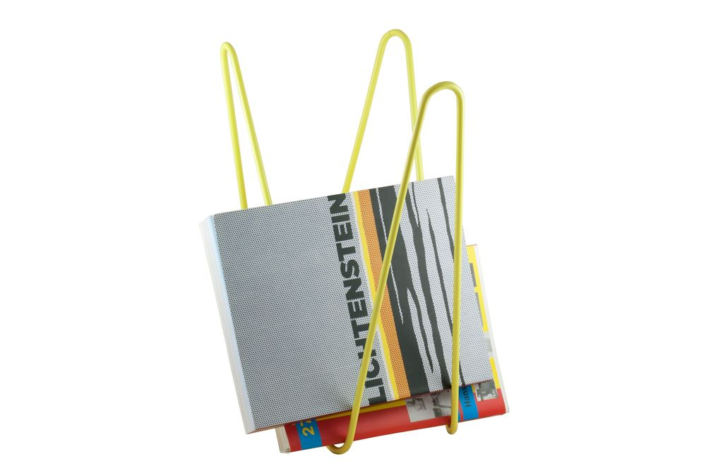 MW magazine rack yellow