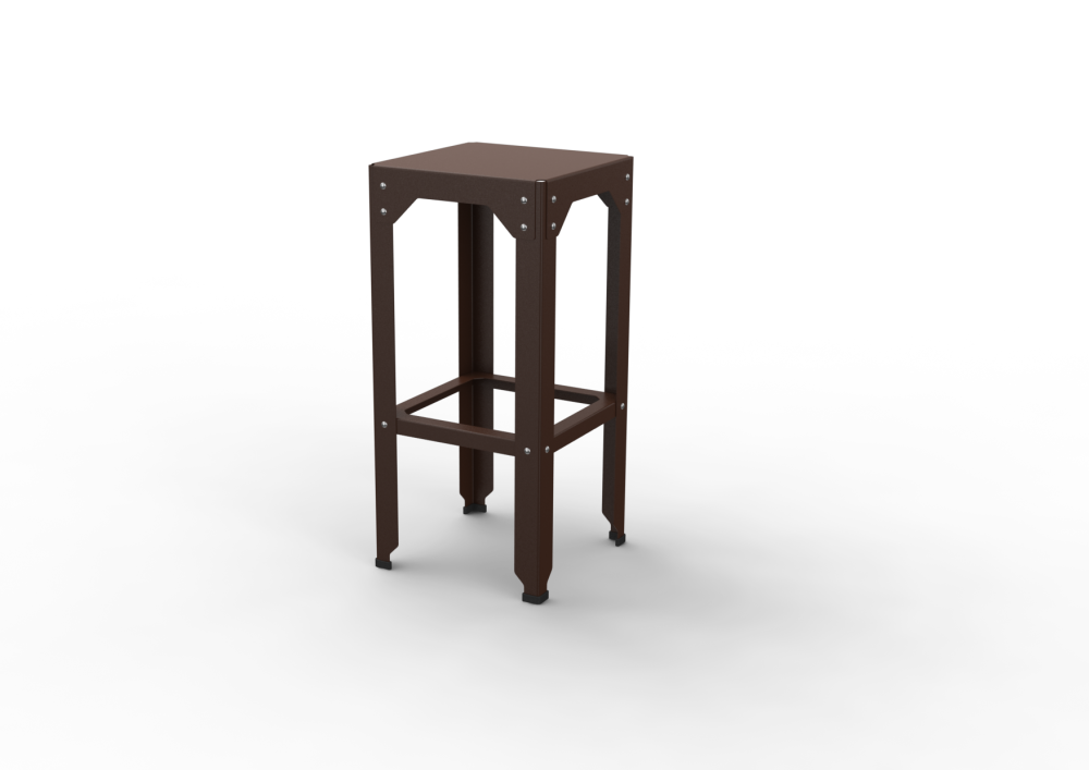 Hegoa Stool by Matière Grise