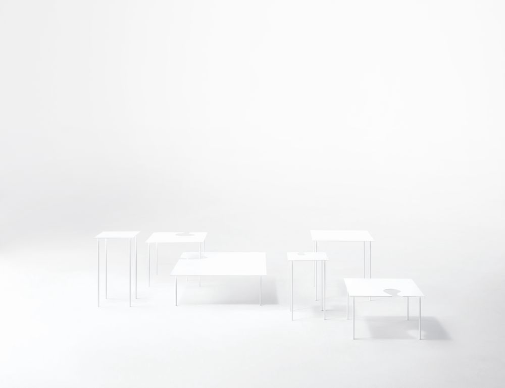 Softer Than Steel Coffee Table - Square by Desalto