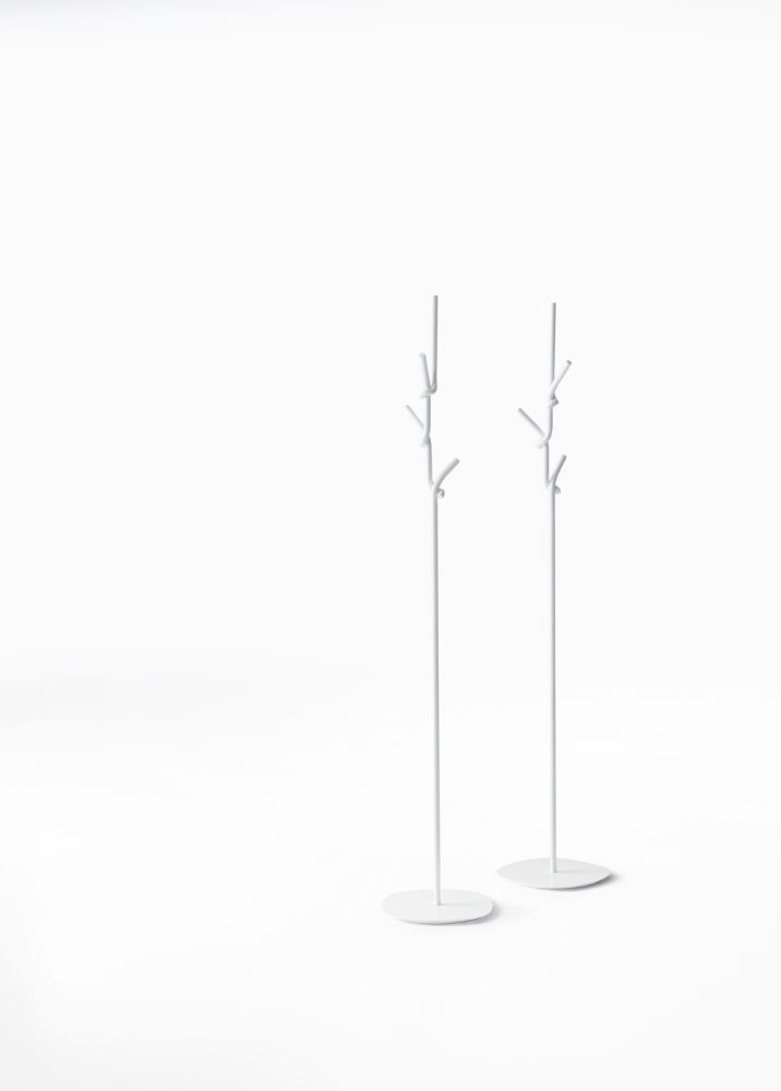 Softer Than Steel Coat Stand by Desalto