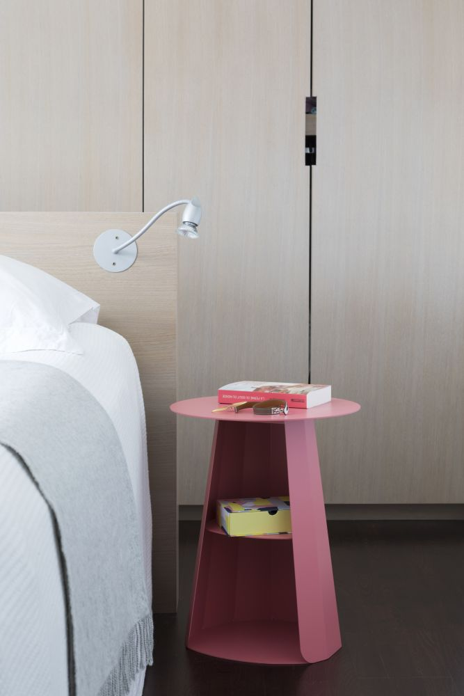 Ankara Round Bedside Table From Matière Grise
