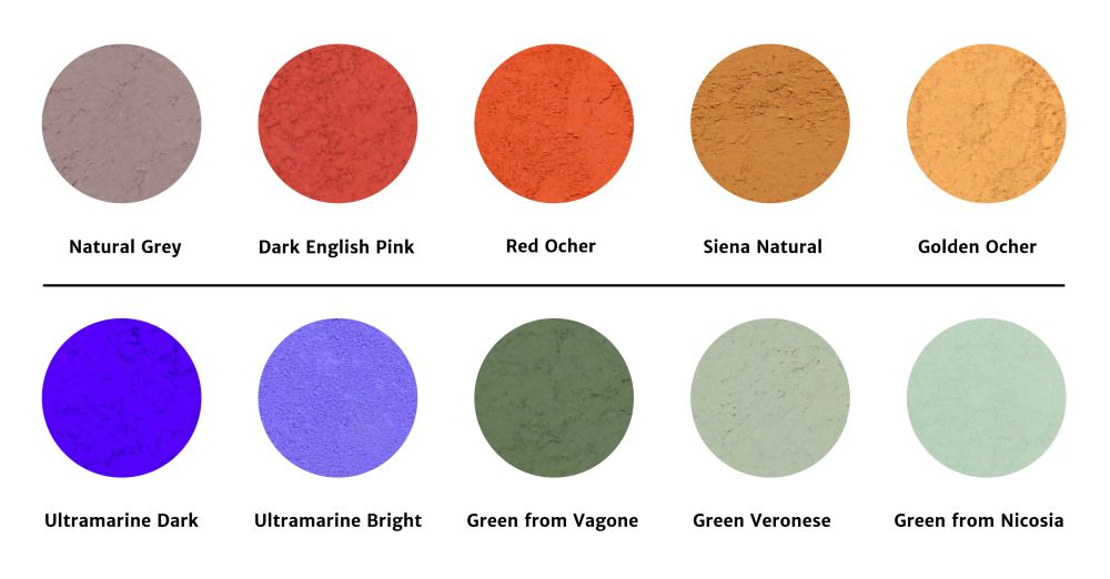 Colour Range for Morphe Collection