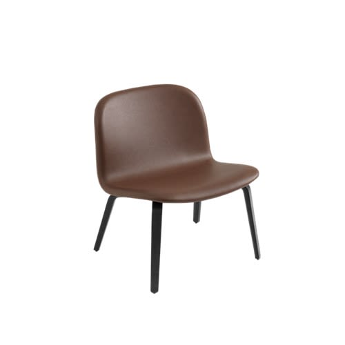 Visu Lounge Chair - Textile Shell by Muuto