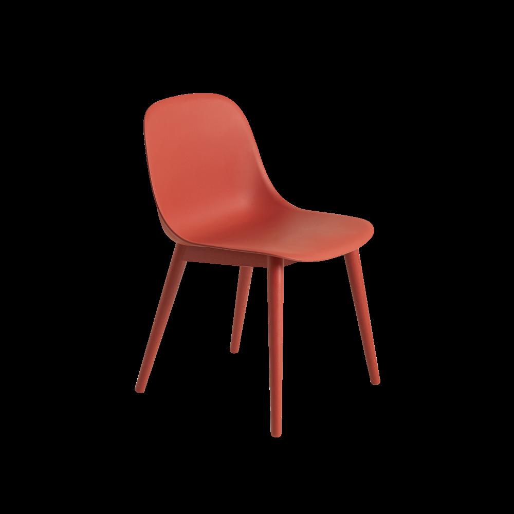 Fiber Side Chair Wood Base by Muuto