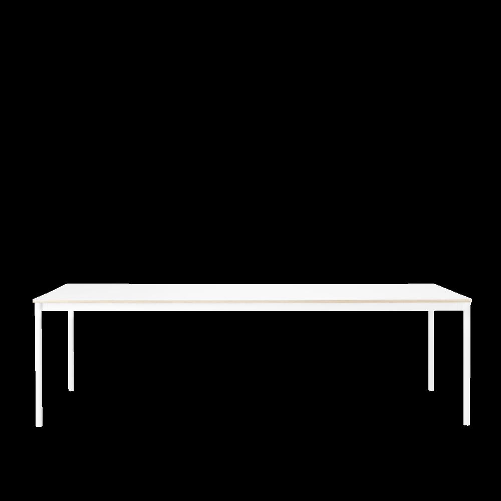 Base Long Rectangular Table by Muuto