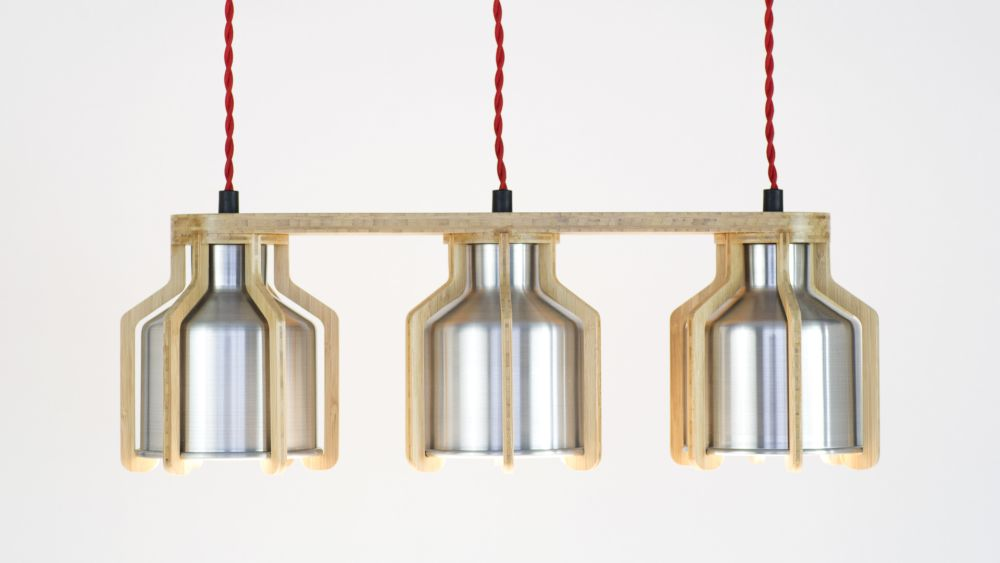 Cell Triplet Pendant by Liqui Contracts