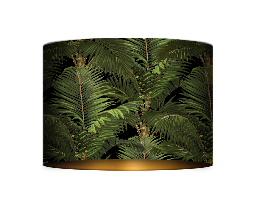 Jardin Tropical Drum Table/Floor Shade by Mind The Gap