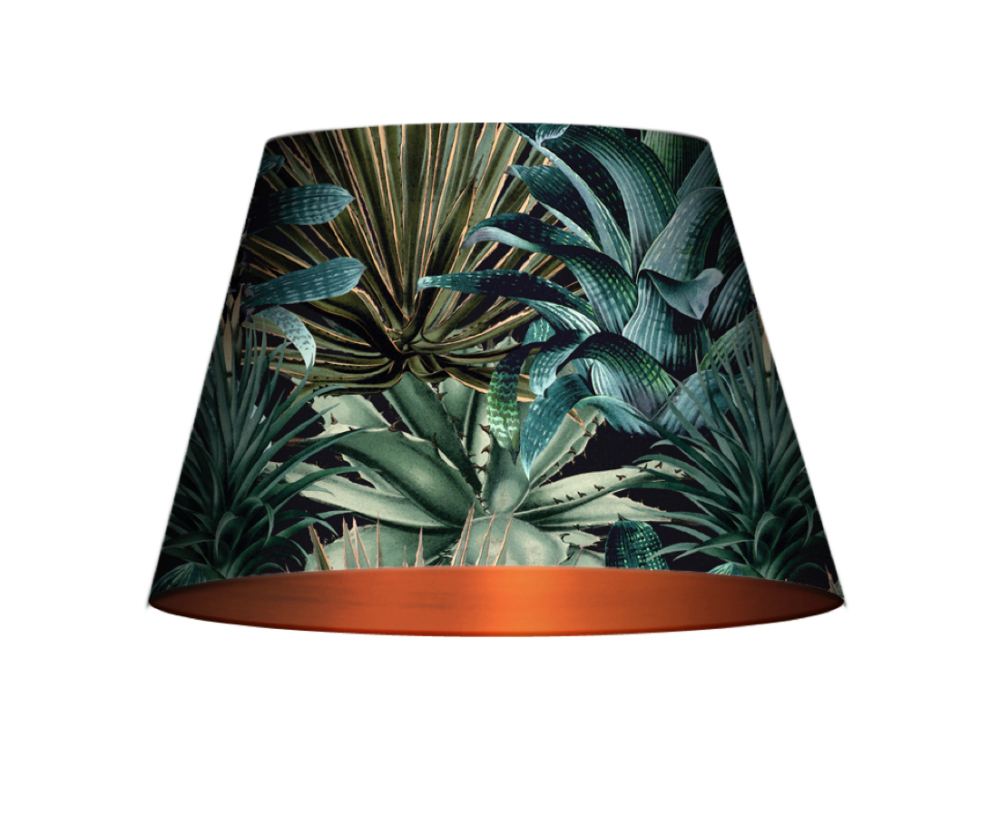 Lush Succulents Cone Table/Floor Shade by Mind The Gap