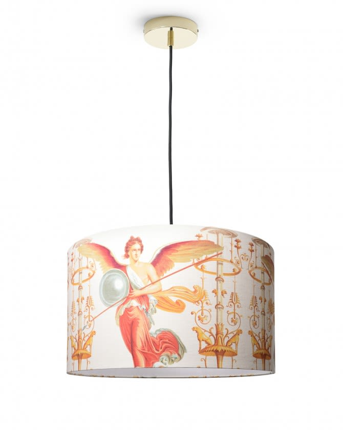 Victory Drum Pendant Light by Mind The Gap