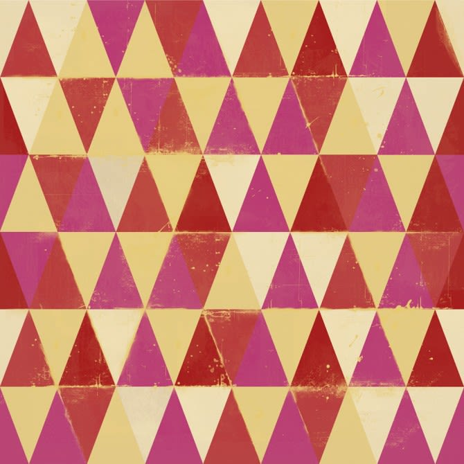 Circus Pattern I Wallpaper by Mind The Gap