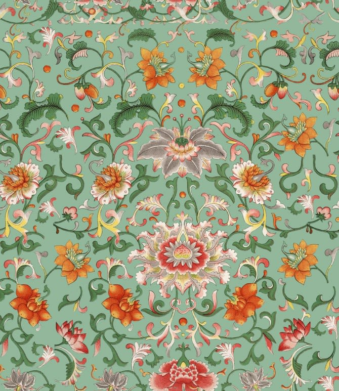 Chinese Floral Wallpaper by Mind The Gap