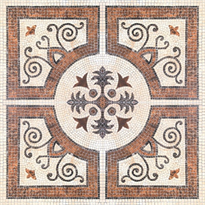 Byzantine Tile Wallpaper by Mind The Gap