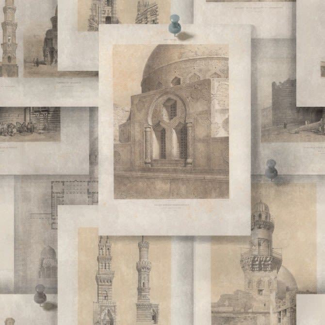 Arabian Monuments Wallpaper by Mind The Gap