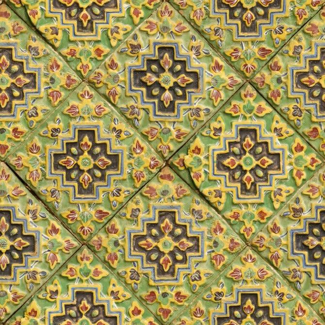 Italian Tile Wallpaper by Mind The Gap