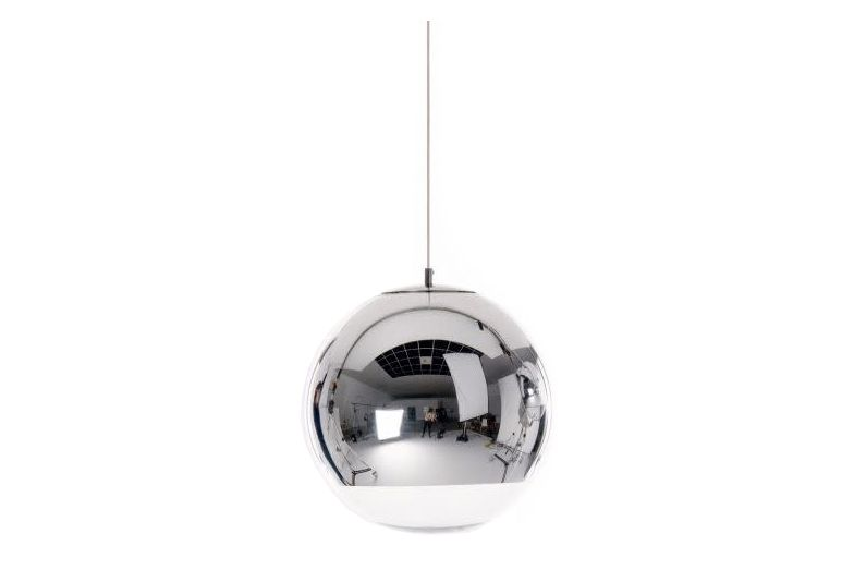 Mirror Ball Pendant Light Chrome Small by Tom Dixon