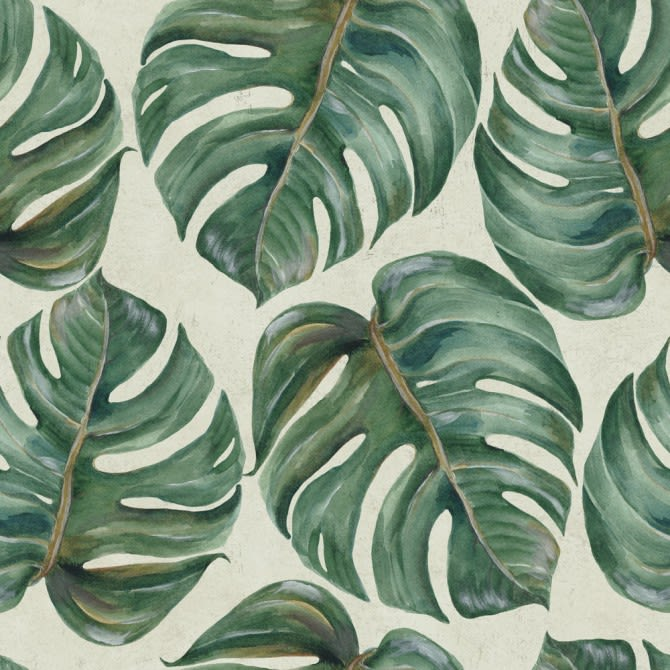 Tropical Leaf Wallpaper by Mind The Gap