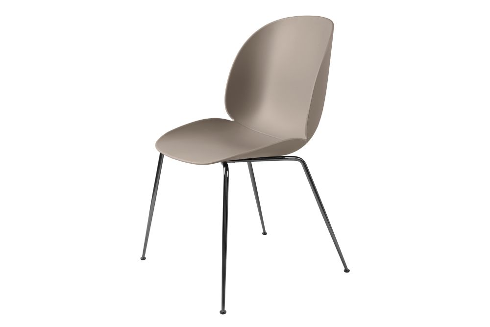 Beetle Dining Chair - Conic Base by Gubi
