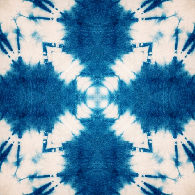 Shibori Butterfly Wallpaper by Mind The Gap