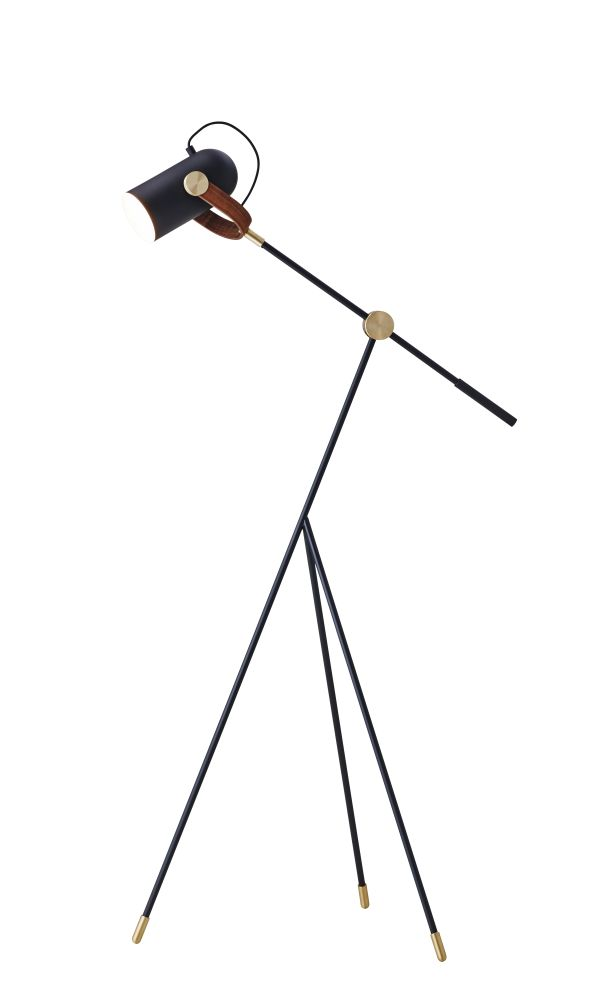 Carronade low floor lamp black by markus johansson for le klint mozeypictures Gallery