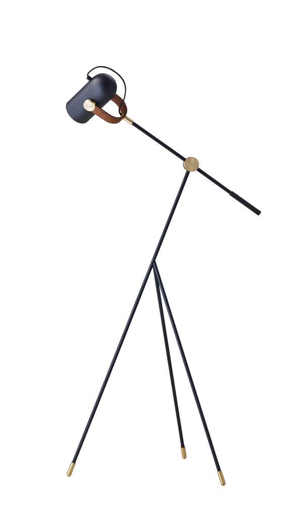 Carronade Low Floor Lamp by Le Klint