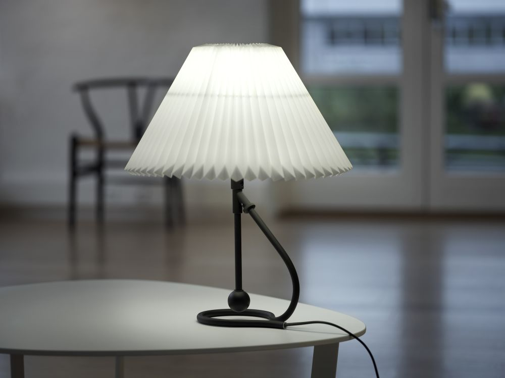 Le Klint 306 Table Lamp Brass Plastic by Kaare Klint for Le Klint