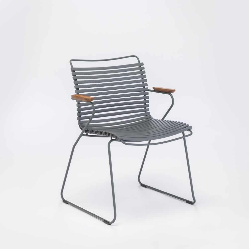 Click Dining Chair With Armrests by HOUE